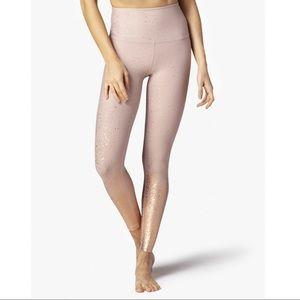 NWT beyond yoga alloy speckled high waist xl